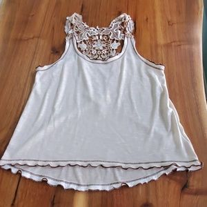 Staring at Stars lace back top